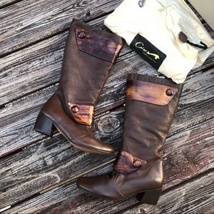 NWT Sublime Cvine Brown Leather Boots